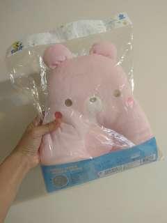 🚚 粉紅 透氣 寶寶枕頭