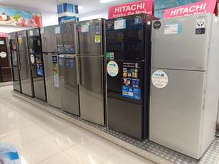 Kulkas HITACHI 2 Pintu Bisa Kredit Proses 3 Menit