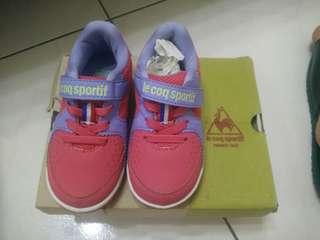 專櫃童鞋Le cop sportif 粉色