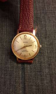 Swiss Admira Gold Plated Watch