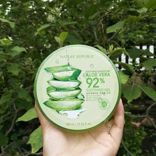 Nature Republic Soothing & Moisture Aloe Vera 92% Soothing Gel 💯 ORIGINAL!!!