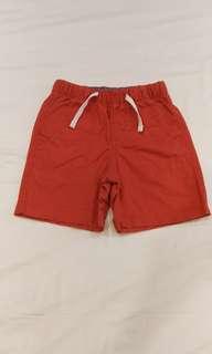 🚚 Gap男童橘紅短褲4T