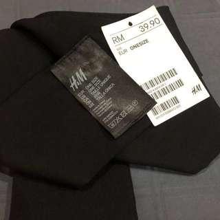 H&M Ribbon Belt Black #20under