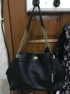 Marie Claire Black Chain Tote Bag [NETT]