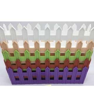 Plastic fence pot (rectangle)