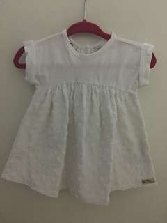 0-3 months baby dress