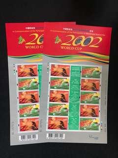 中國隊參加2002年世界杯足球賽小版