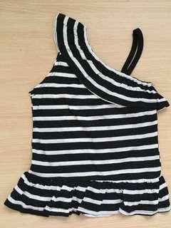 Black & White Stripes Top #20under