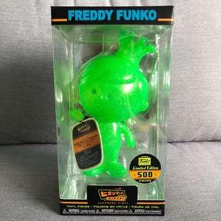 Hikari: Neon Green Glitter Freddy Funko (Limited to 500Pcs)