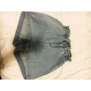 Factory Denim High waist shorts size 10