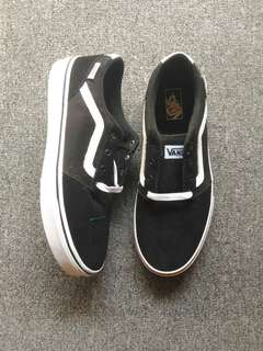 Vans chapman black white