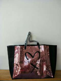 Onhand! Victoria's Secret Large Tote $58 Value!