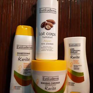 SALE!!!! Bundle package:shampoo,conditioner, hair mask, body lotion