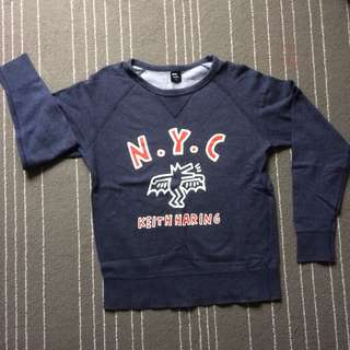 UNIQLO Keith Haring Sweatshirt