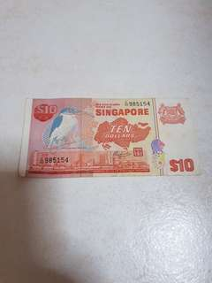 Old $10 Note