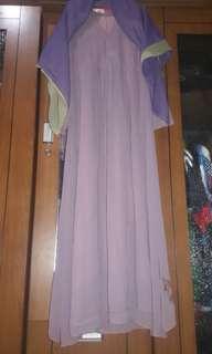 Gamis alilla ungu