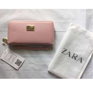 Zara pink wallet brand new with tags