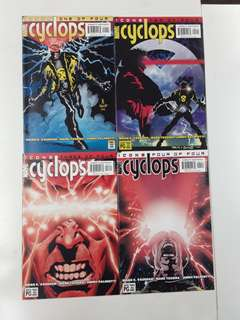 Cyclops (2001) Icons Comics Set