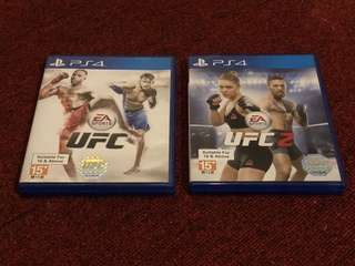 UFC 1 and 2