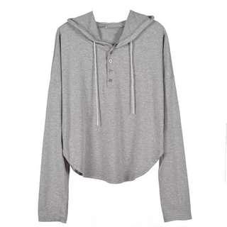 Preorder hoodie loose long-sleeve shirt