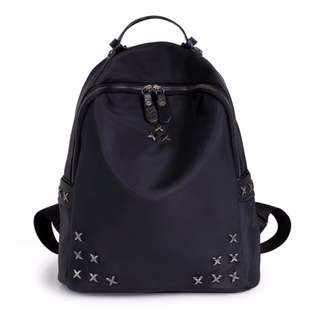 Le Voue 966 Fashion Style Premium PU leather Travel Outing Backpack