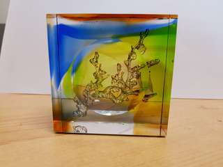 Liu Li Gong Fang Decorative Art Piece
