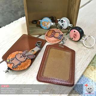 Kawaii  Card Holder and Key Chain