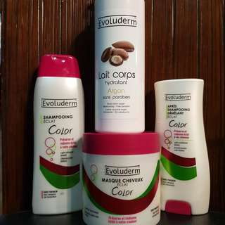 SALE!!!!! Bundle package:shampoo, consitioner, hair mask, body lotion