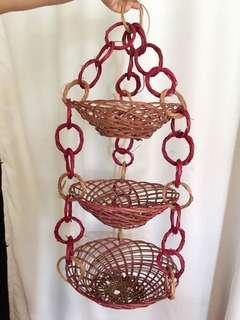 Fruit Vegetable basket hanging