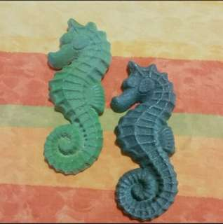 Seahorse Clay Display. ( Wall Display )