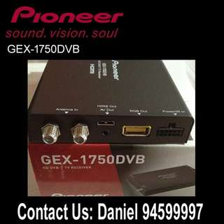 PIONEER GEX-1750DVB2 (HD DVB-T2 Digital TV Tuner)