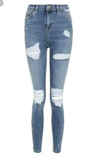 Denim Ripped Jeans Jamie