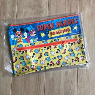 Brand new Singapore Airlines Disney Mickey Mouse Superheroes In Training Bag