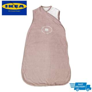IKEA CHARMTROLL Sleeping bag, beige, white FAST DELIVERY