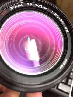 🚚 鏡頭 Minolta 35 105mm af