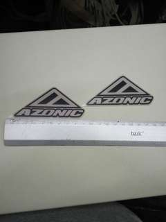 Race Face SixC Crank Decals Set Stickers Mountain Bike Adhesive Red 2Pcs