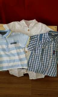 Mothercare Shirt Rompers,Disney and Poney Polo Shirts