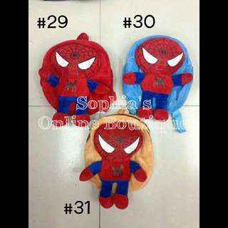 Baby Character Backpack - SPIDERMAN