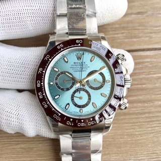 Rolex Daytona Ice Blue Dial Dark Brown Bezel ETA 7750 Swiss Engine