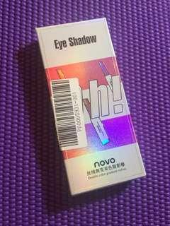 Double colored eyeshadow