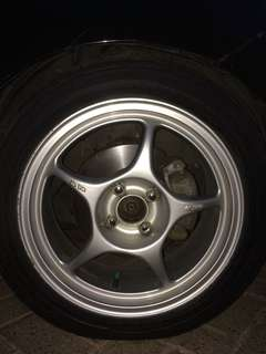 Second VELG ONLY ENKEI TULANG R16