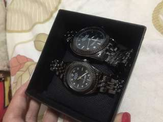 Rolex Couple watch