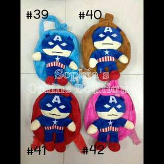 Baby Character Backpack - CAPTAIN AMERICA