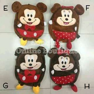 Baby Character Backpack - MICKEY / MINNIE MOUSE