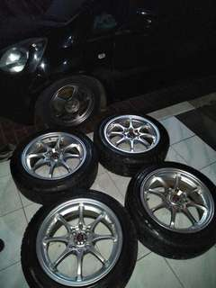 Second Replika VELG ONLY ENKEI CE28