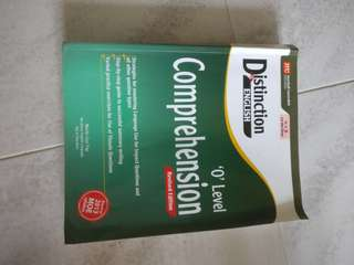 Distinction in English 'O' Level Comprehension Revised Edition