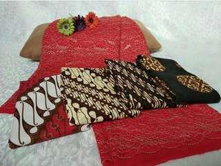 French Lace with Batik Jawa
