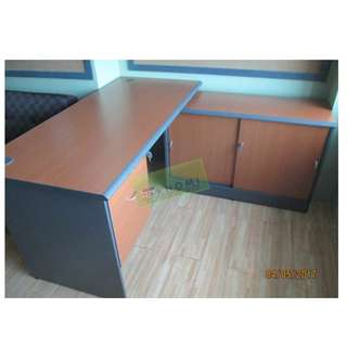 RV SERIES EXECUTIVE TABLE WITH DRAWERS--KHOMI