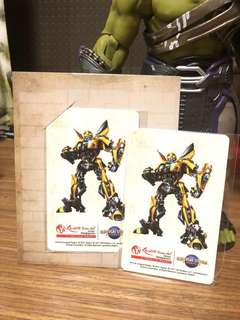 Ezlink card transformers bumblebee