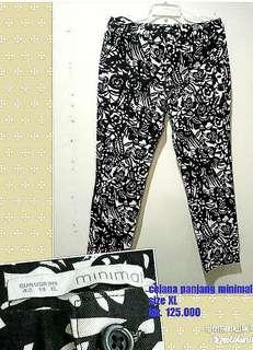 #turunharga jadi 110.000- Long pants merk 'Minimal'